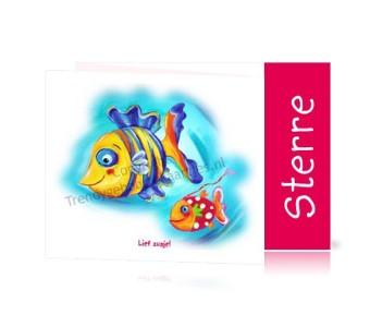Geboortekaartje Meisje Vis