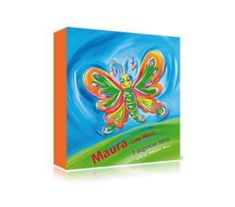 Babykamerschilderij Vlinder