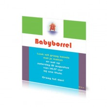Babyborrelkaartje Luuk