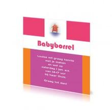 Babyborrelkaartje Louise
