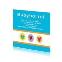 Babyborrelkaartje Bente