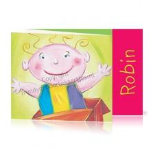 Geboortekaartje Robin