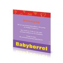 Babyborrelkaartje Lizzy