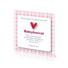 Babyborrelkaartje Yinthe