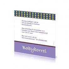 Babyborrelkaartje Graig