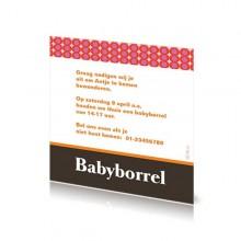 Babyborrelkaartje Antje