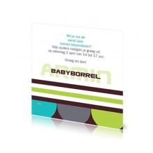 Babyborrelkaartje Armin