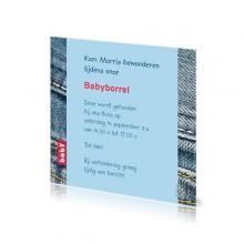 Babyborrelkaartje Morris