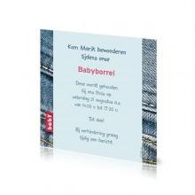 Babyborrelkaartje Marik