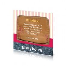 Babyborrelkaartje Sjenna