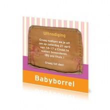 Babyborrelkaartje Cindel