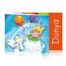 Geboortekaartje Meisje Schaap Ballonnen