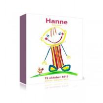 Kinderkamerkunst Hanne