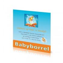 Babyborrelkaartje Madelief