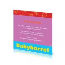 Babyborrelkaartje Wies