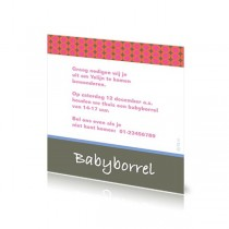 Babyborrelkaartje Yolijn