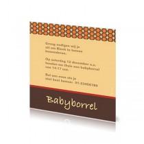 Babyborrelkaartje Binck
