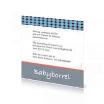 Babyborrelkaartje Tieme