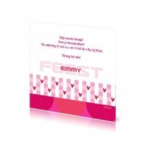 Babyborrelkaartje Emmy
