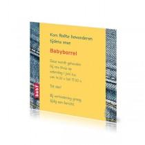Babyborrelkaartje Rafke