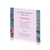 Babyborrelkaartje Marit