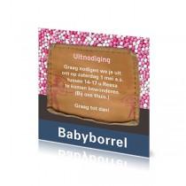 Babyborrelkaartje Reesa